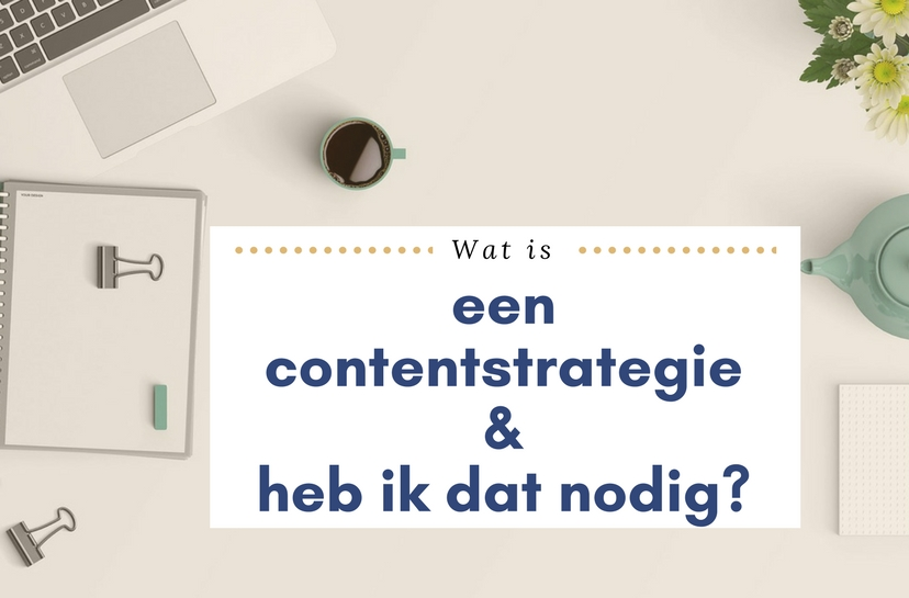 Wat is een contentstrategie?