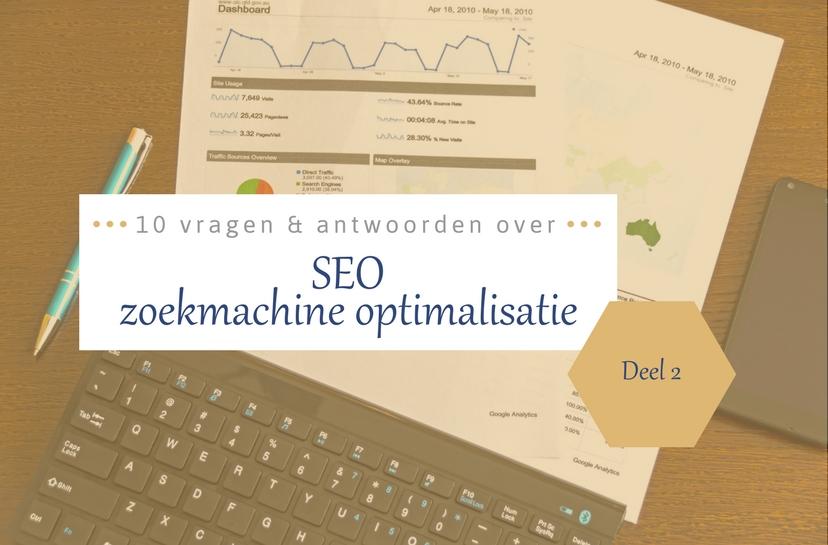 FAQ 10 vragen over SEO & algoritmes