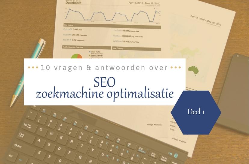 SEO FAQ 10 beginnersvragen over zoekmachineoptimalisatie