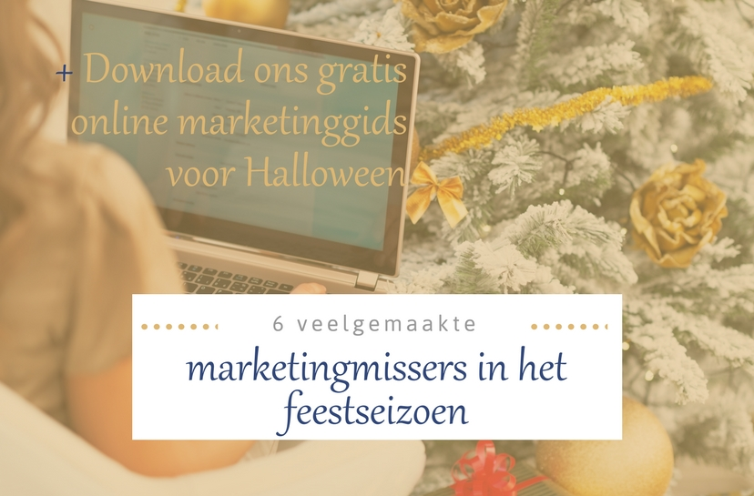 Marketingmissers feestdagen online marketing gids Halloween