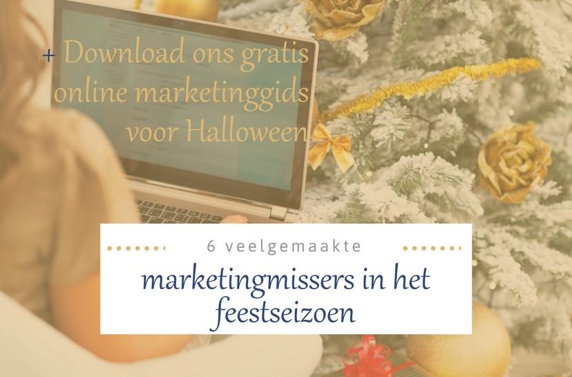 Marketingmissers feestdagen online marketing gids Halloween