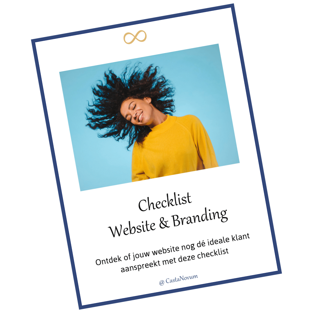 Checklist website & branding